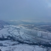 Zimowy Klin-Andrzejówka Paragliding Fly, Widok w stronę Bukowca