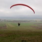 Nowe Siodło - Krowiara, Jesienne latanie na żaglu