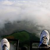 To tak jakby siedzieć na chmurze.