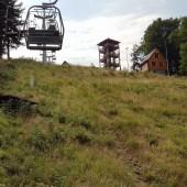 Startowisko pod wieżą widokową., Dzikowiec Paragliding Fly Boguszów - Gorce