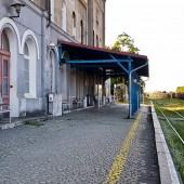 Dworzec kolejowy Ząbkowicach Śląskich.