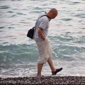 Bieliki nad włoskim morzem., Nawet ja się załapałem na foto.