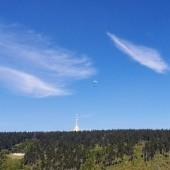 Cerna Hora - Paragliding Fly, Malowane chmurami ...