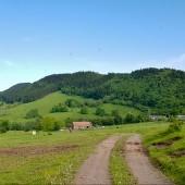 Lądowanie pod Czeszką., Bukowiec - Klina Hike, fly już było.
