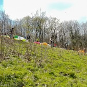 Srebrna Góra - Paragliding Fly, Z oficjalnego przełajem na start.