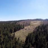 Rudnik Paragliding Fly, Widok na startowisko na Rudniku.