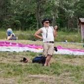 Rysiek, nasz instruktor - tata Bielik.
