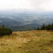 Mała Kopa - Karkonosze i Paralotnie, Start i widok na Karpacz