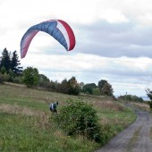 Latanie z Czeszki - lądowisko, Oficjalne lądowisko na bazie klubu SOVA