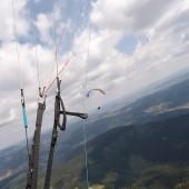 Cerna Hora Paragliding Fly, Wspólne latanie nad górką ;)