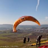 Paralotnią w Mieroszowie