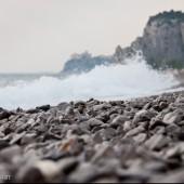 Sistiana plaża.