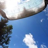 Kudowa - Radków Paragliding Fly, Start na dwa razy, sterówki wypadły z łap ;)