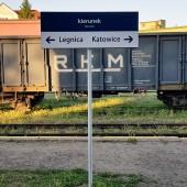Dworzec kolejowy i autobusowy w Ząbkowicach Śląskich.