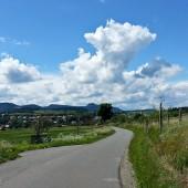 Kudowa - Radków Paragliding Fly, Lądowanie przy drodze, ale na drodze dla rowerów to słaby pomysł.