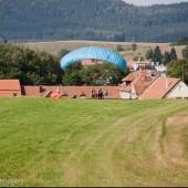 Latanie w Mieroszowie 23-08-2014, Kursanci Andrzeja trenują alpejkę.