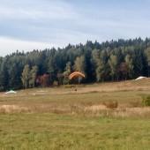 Startowisko w Mieroszowie., Nauka latanie paralotnią - Klub Bielik