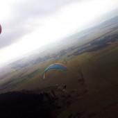 Mieroszów - grudniowe latanie, Paraglidning Fly