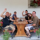 Lijak dzień czwarty - Kobala, Po lataniu w Gradzie na ekstra kolacji, wszystkie Bieliki.