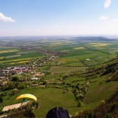 Paralotnie i Srebrna Góra