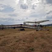 Towarzystwo Lotnicze w Świebodzicach 2018, Gminny Piknik Lotniczy - hole lotni za motolotnią.