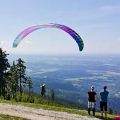 Cerna Hora Paragliding Fly, Start