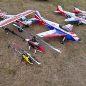 Gminny Piknik Lotniczy - goście modelarze