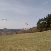 Mieroszów paralotnie, latanie swobodne