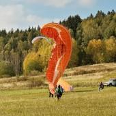 Mieroszów - Paragliding Fly, Daria ćwiczy kobrę.