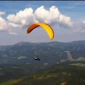 Cerna Hora - Paragliding Fly, Efendi w swoim pierwszym kokonie.
