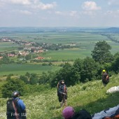 Srebrna Góra - Paragliding Fly, W oczekiwaniu na start