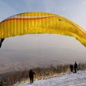 Czeszka Paragliding Fly, Jodłownik - Bielawa - Paralotnie