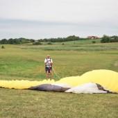 Mazurskie latanie swobodne na paralotni.