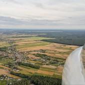Podejście do lądowania, Aeroklub Opolski, loty termiczne.