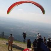 Cerna Hora - Paragliding Fly, Na starcie.