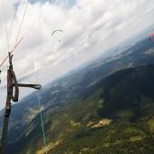 Wspólne latanie nad górką :)