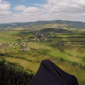 Na wysokości Górnej Głuszycy w kierunku Głuszycy.