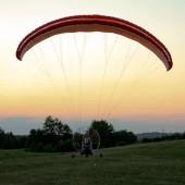 Kolejne bezproblemowe lądowanie, Andrzej opanował to do perfekcji.