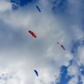 Srebrna Góra - Paragliding Fly, Latanie było tego dnia do 20-tej.