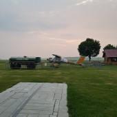 Towarzystwo Lotnicze Świebodzice kurs podstawowy 2018 dzień 3, EPWC godzina 5, tak już będzie do soboty, o zgrozo!