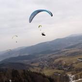 Grzmiąca - Paragliding Fly, Głuszyca - Grzmiąca - paralotnie