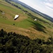 Mieroszów - Paraglidnig Fly, Skrobanie się na żagiel.