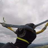 Andrzejówka - Paragliding Fly, Zimno w ręce, szczególnie w takich cienkich rękawiczkach.
