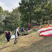 Srebrna - Snov Paragliding Fly, Srebrna Góra Start