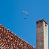 Paralotniowe wakacje w Mieroszowie, Potem komin zaczynamy kręcić