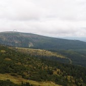W stronę Białego Jaru, a na horyzoncie Słonecznik i Smogornia / Stribrny hrbet