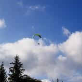 Andrzejówka - Klina Paragliding Fly, Makoś w akcji