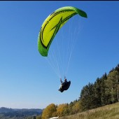 Monte Muero Paragliding Fly