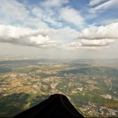 Rudnik - Śnieżka - Rudnik - Bielawa, fot. Narcin Białobłocki, paraglidingfly