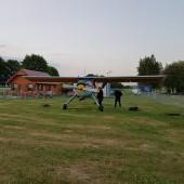 Atrakcja dzisiejszego dnia, czyli lot Wilgą na EPJG